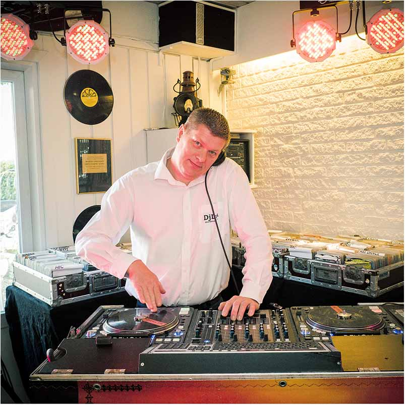 DJ at wedding