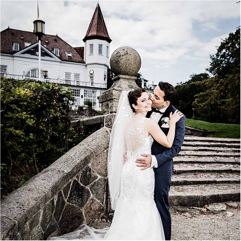 The dream of having a fairy tale wedding