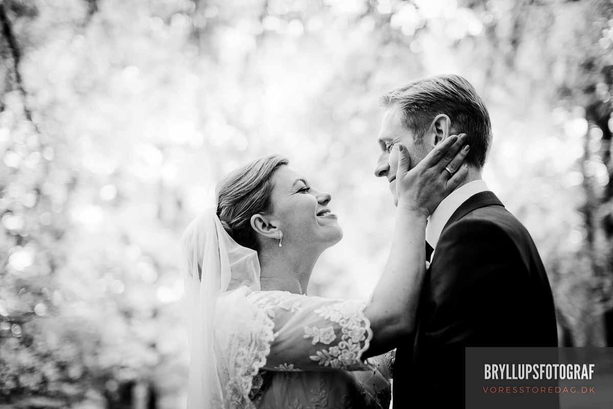 B&W digital wedding photography