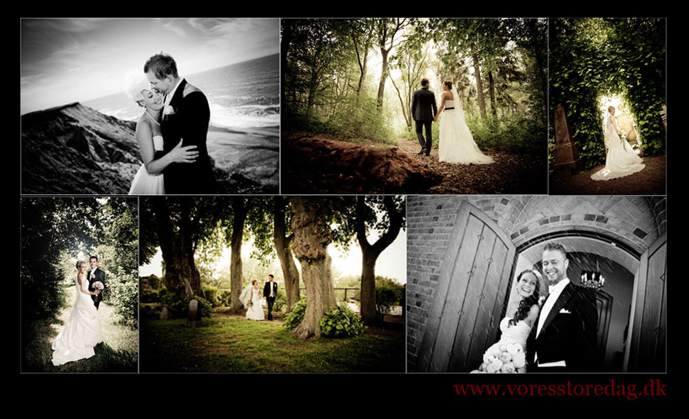 wedding photographer in Denmark